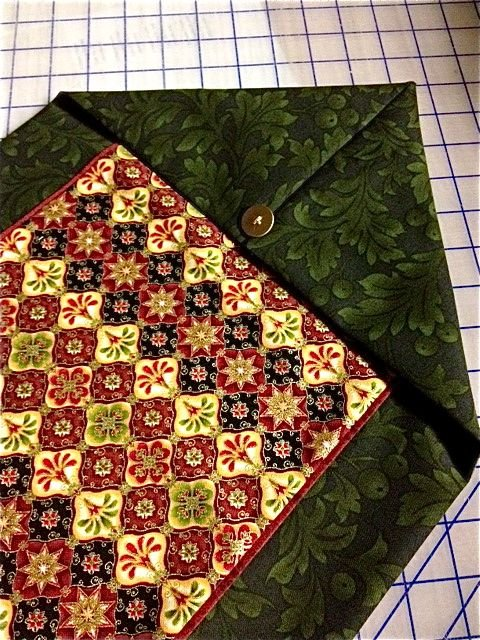 Ten minute table runner pattern and pics for 10 minute table runner with batting