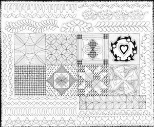 Quilting Designs For Borders Free : Free Motion Quilting Class