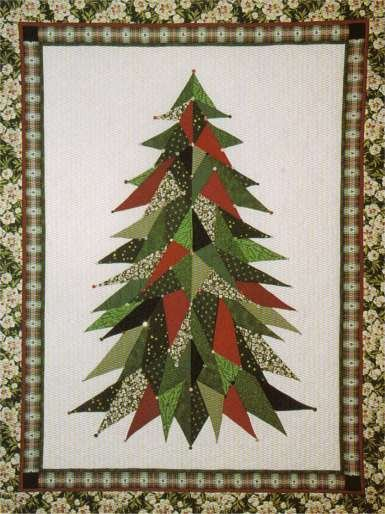 Sage Country Quilts - Christmas Tree 0101