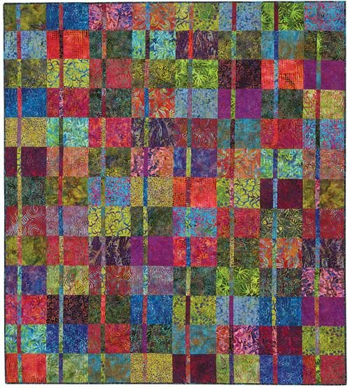 Blue Underground's Juxtaposition Quilt Kit