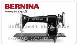 BERNINA Credit Card