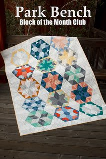 Park Bench Quilt Block of the Month