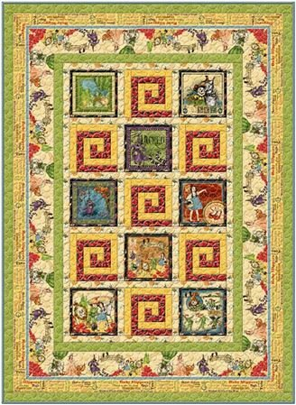 The Magic of OZ Quilt Kit - Backorder