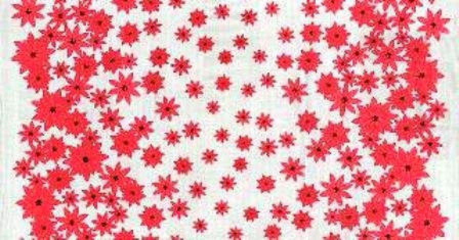 Moda - Winters Lane - Poinsettias in the snow