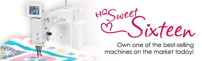 sweet sixteen quilting machine for sale used