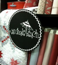 Jan Shade Beach Holiday Frost fabric collection by Henry Glass