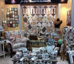 Coats & Clark Eclectic Elements fabric collection by Jim Holtz