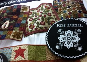 Kim Diehl Hearthside Seasons fabric collection by Henry Glass