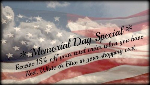 Bear Creek Quilting Company Memorial Day Special