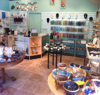 Sanibel Bead Shop | Coastal-thmed beads | Sanibel, Florida