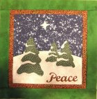 Winter Peace Mini Quilt