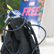 Learn all about your scuba gear with PADI scuba lessons