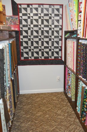 Colors and Prints Fabrics Wall