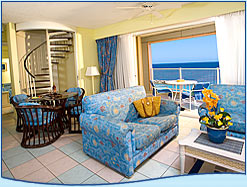 2 bedroom suite oceanfront Breezes resort