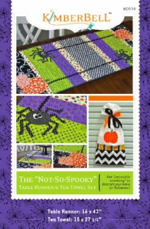 The Not So Spooky Table Runner
