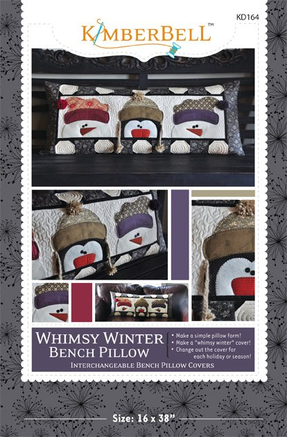 Whimsy Winter Bench Pillow