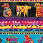 Laurel Burch Dogs and Doggies Collection