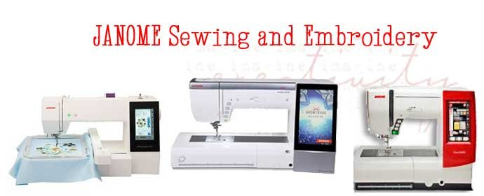 Janome Sewing Embroidery Machines