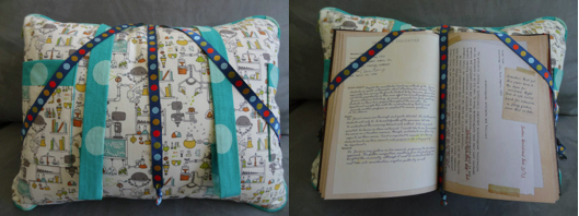 Sewing Pattern For Book Pillow: Reading Pillow Pattern,