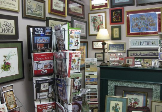 cc and company counted cross stitch picture framing blue springs mo