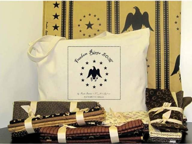 Freedom Rings Pattern Set with Bag - 3 left in stock