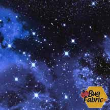 Space: Galaxy - Timeless Treasures 9924galaxy -- 2 yards 31 inches for $28.00