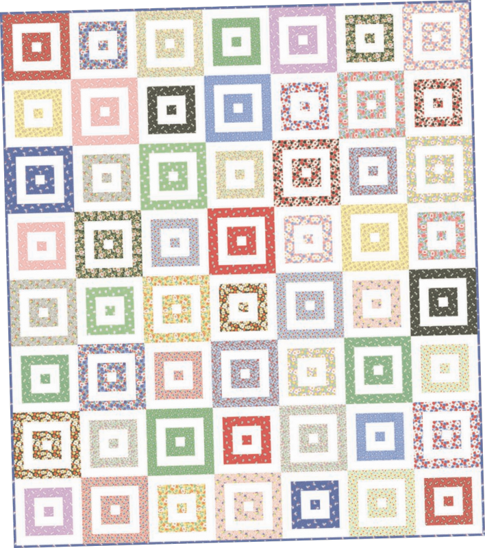 Free Quilt Patterns For Moda Fabric : Free Moda Quilt Pattern Downloads & Designs from Old South Fabrics