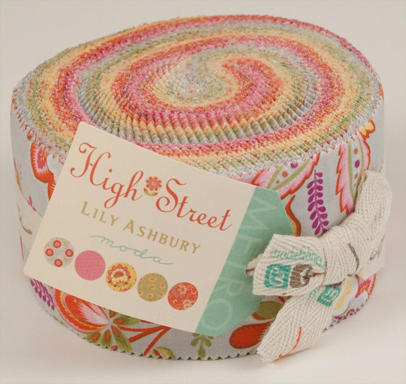 High Street - Jelly Roll - by Moda