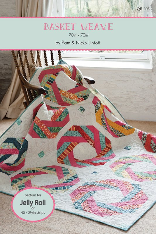 Basket Weave By Pam Amp Nicky Lintott Qr 202 Jelly Roll