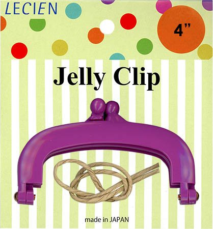 Jelly Clip Purse Frame