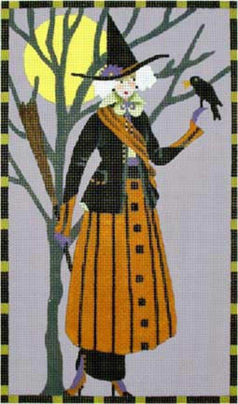MS1334C Fancy Witches Crow