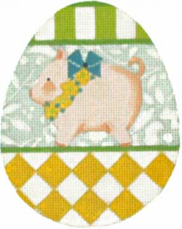 MS1383C Animal Egg  Pig