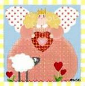 MS583A Girl Tooth Fairy Pillow