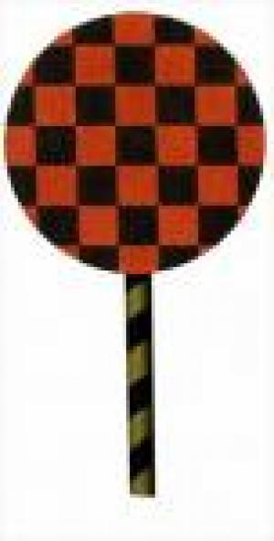 MS901A Checked lollipop