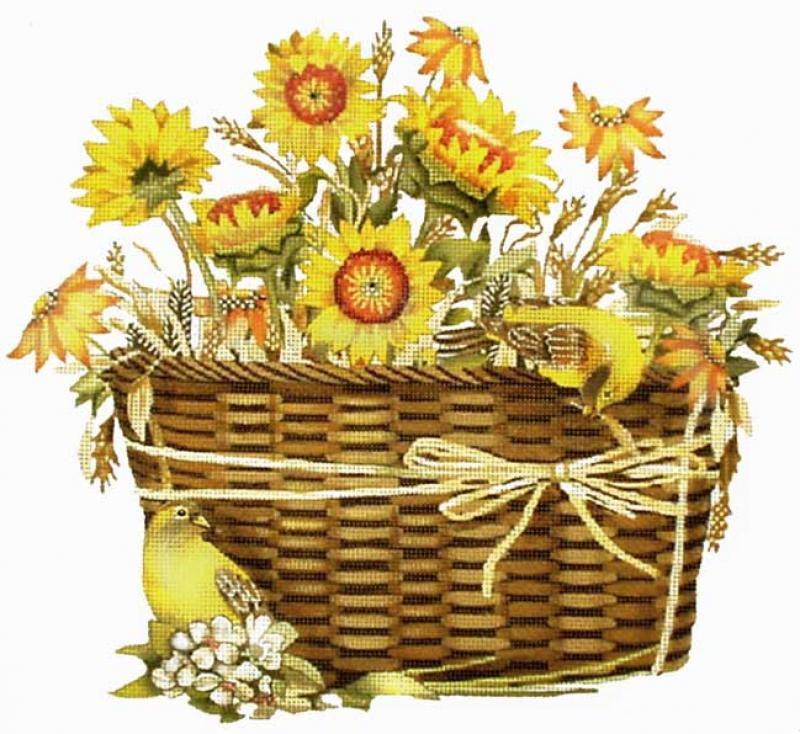 MSMLT198 Sunflower Basket