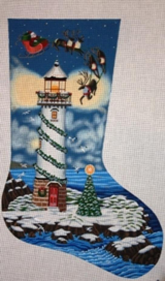 TTAXS314 Santa Lighthouse