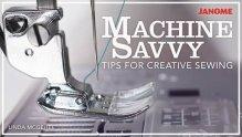 Machine Savvy Craftsy Class