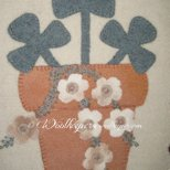 All is Calm Wool Applique Kit by Woolkeeper