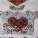 Bushel & A Peck Wool Applique Kit by Woolkeeper