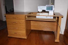Unique Sewing  Furniture 572LX Cabinet