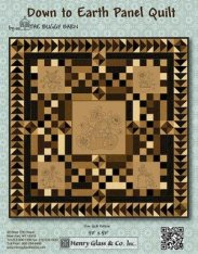 Down To Earth Panel Quilt by Buggy Barn