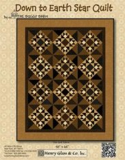 Down to Earth Star Quilt by Buggy Barn
