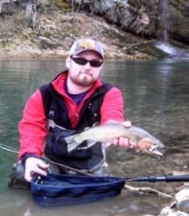 Meet bryan gregg for Northwest fly fishing outfitters