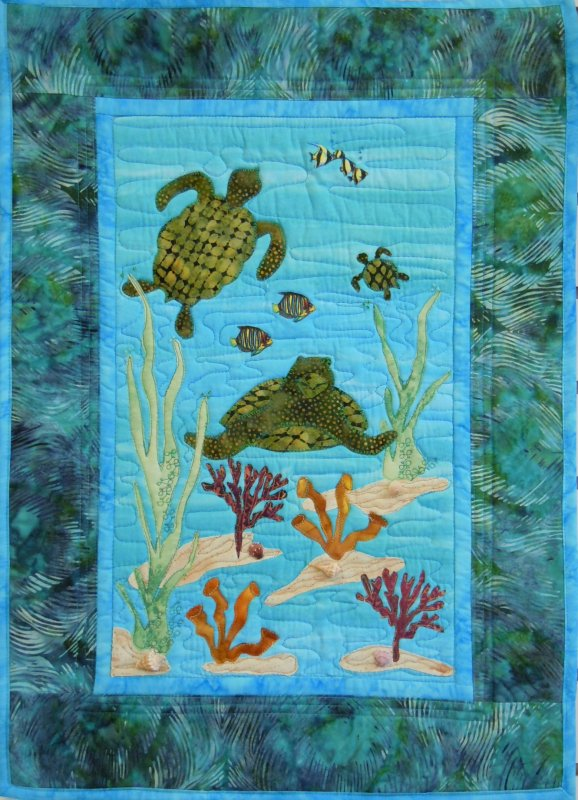Quilt Patterns With Turtles : Quilting Patterns