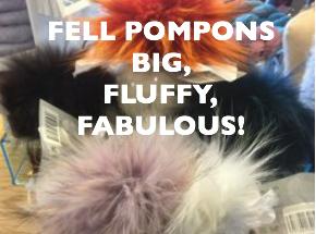fell pompons