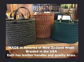 braided bags