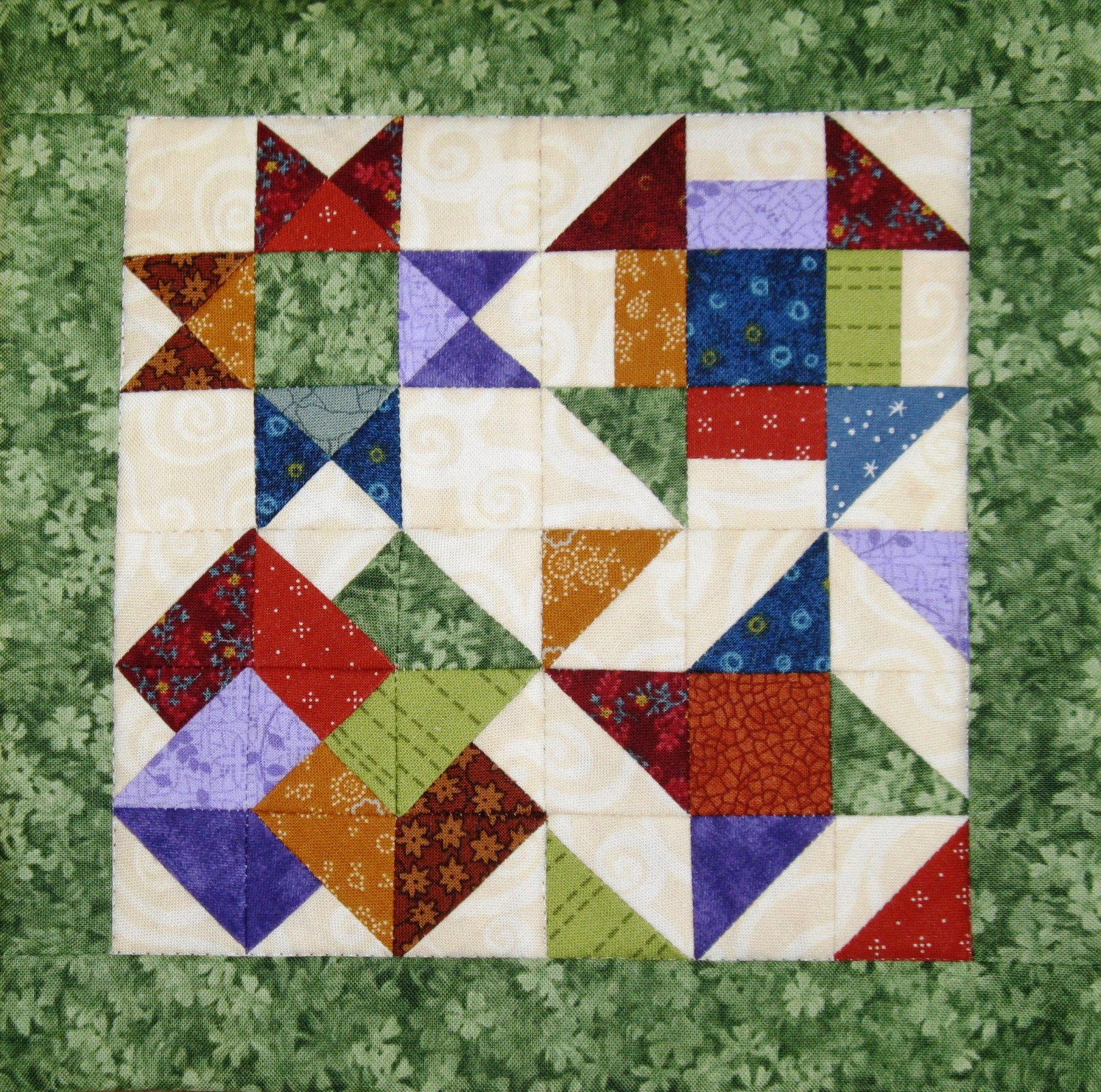 how to make a mosaic quilt