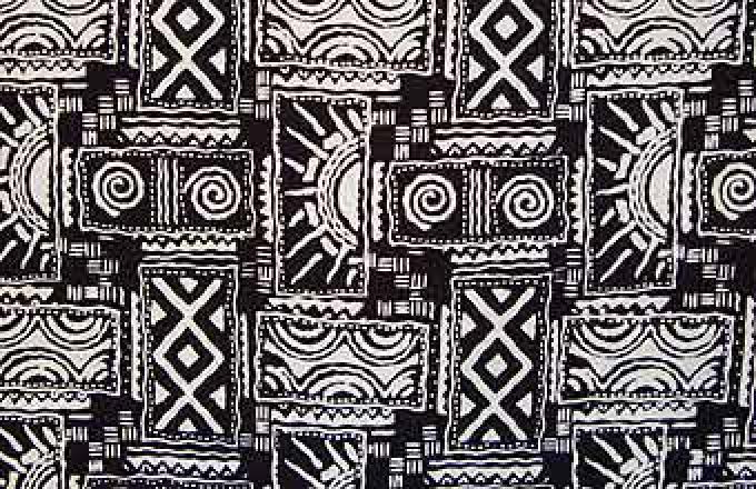 Batik Print Block Design