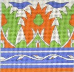 needlepoint tile