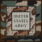 U.S. Army needlepoint